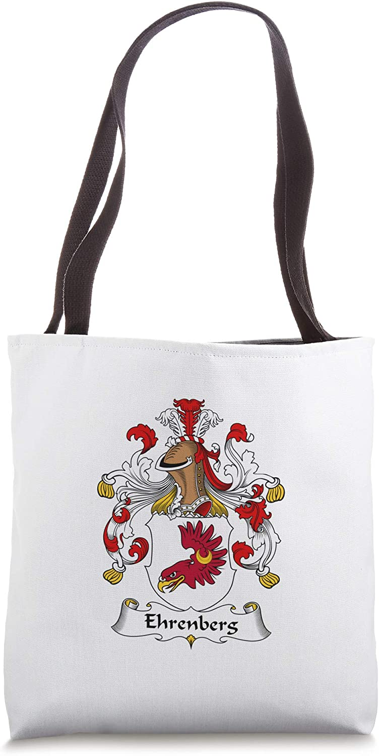 Ehrenberg Coat of Arms - Family Crest Tote Bag