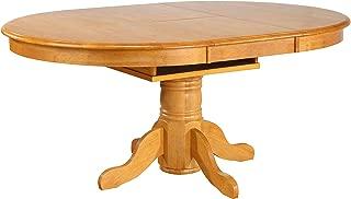 Sunset Trading Oak Selections Dining Table, Light Finish