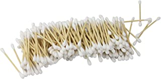Bamboo Cotton Buds - Set of 1000 | Biodegradable Ear Buds | Organic Buds | Recyclable & Compostable | Wooden Ear Swabs | V...