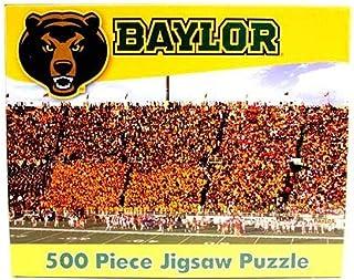 R and R Imports NCAA Baylor Bears Unisex 500-Piece Stadium Jigsaw Puzzle, Team Color, 500-Piece