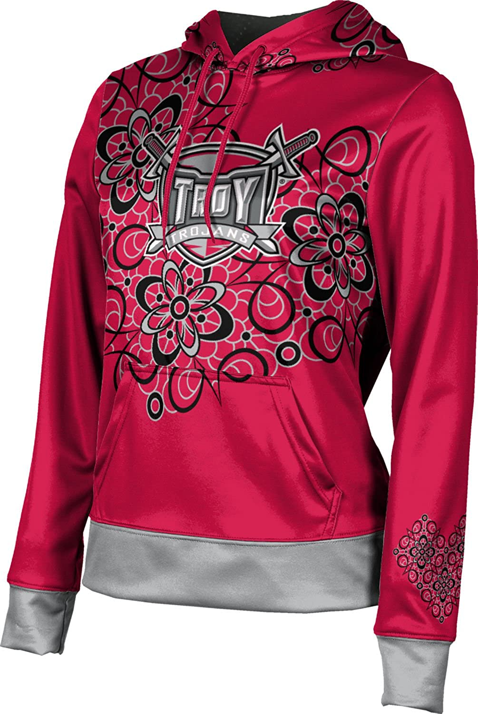 Troy University Girls' Pullover Hoodie, School Spirit Sweatshirt (Foxy)