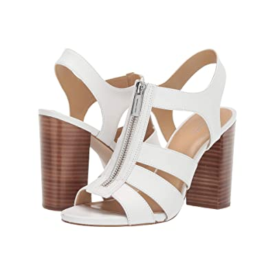 MICHAEL Michael Kors Damita Sandal (Optic White) Women