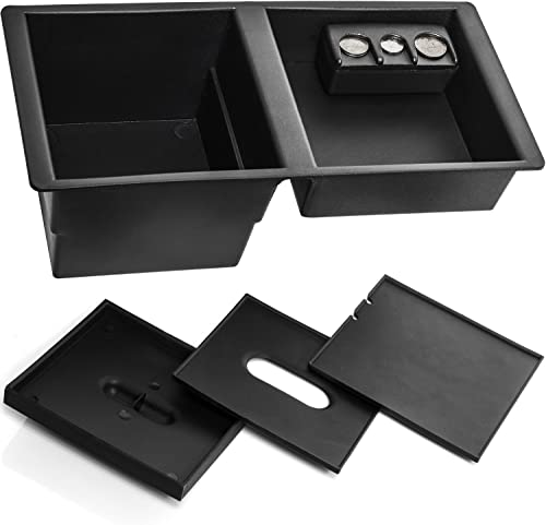 new arrival Center Console Insert Organizer Tray sale for 14-19 Silverado, Tahoe, Suburban, Sierra, Yukon, Escalate - discount Replaces GM Factory OEM Part 22817343 online
