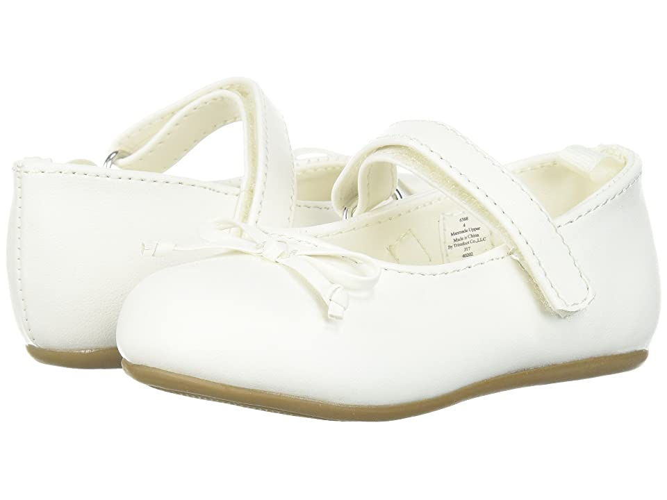 Baby Deer First Steps Ballet with Bow (Infant/Toddler) (Ivory) Girl
