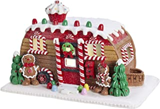 Christmas Decorations - Lighted Gingerbread House Camper - Gingerbread Trailer