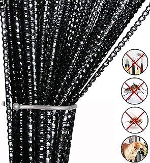 Cortina de cuerdas para puerta con mosca insectos, para separador de puertas o cortina de