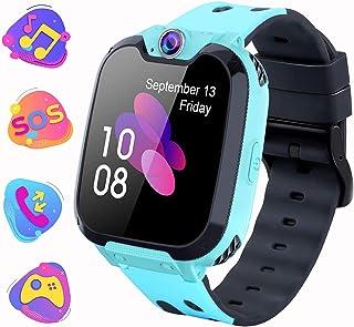 comprar comparacion Smartwatch para Niños con Juegos MP3 - Reloj Inteligente Pulsera con 2 vías Llamada Música Despertador 7 Juegos Cámara de ...
