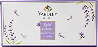 Yardley English Lavender Tri Pack Soap, 100g (Pack Of 3)