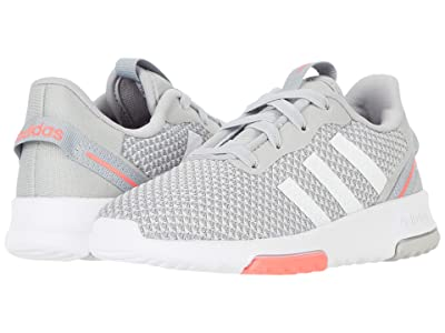 adidas Kids Racer TR 2.0 (Infant/Toddler) (Grey Two/Footwear White/Signal Pink) Girls Shoes