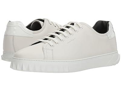 Salvatore Ferragamo Cube Sneaker (Bianco) Men