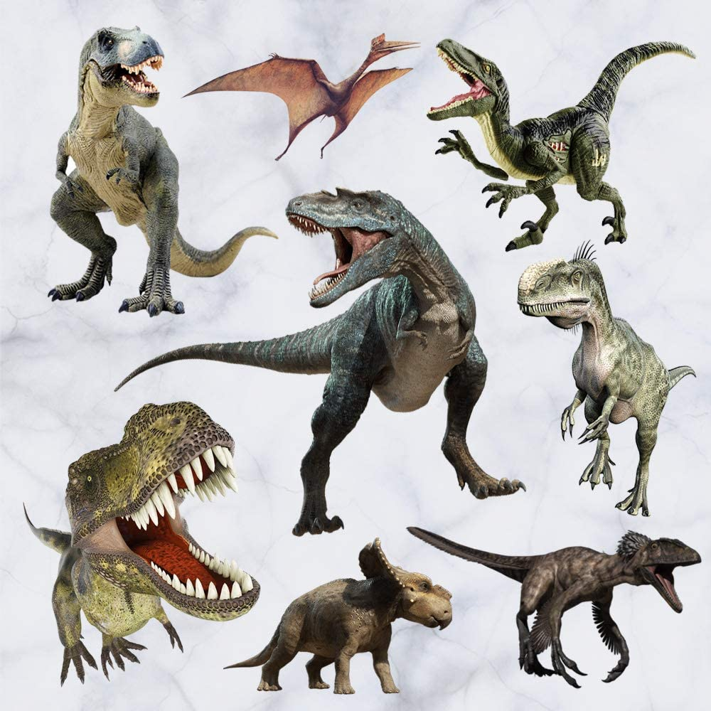 Kiddale 3D Watercolour Luxury goods Dinosaur Kids Stic Stickers and Peel Inventory cleanup selling sale Wall