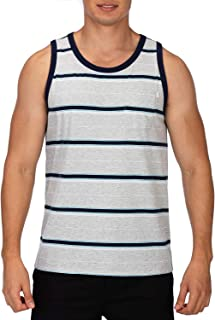 YAGO Men's Striped Tank Top YG5213