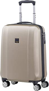 """TITAN Xenon Pc 21"""" Carry on Spinner Luggage, Champagne (Beige) - 809406-CHM"""