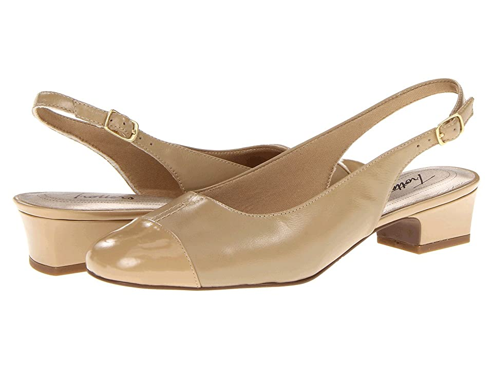 Trotters Dea (Nude) Women's 1-2 inch heel Shoes