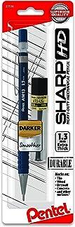 Pentel Sharp HD Mechanical Pencil (1.3mm), Dark Blue Barrel, (1) Super Hi-Polymer Lead Refill (AM13LBP)