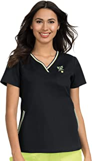 koi Classics 113 Women's Ashley Crossover V-Neck Solid Scrub Top