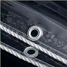 Transparant Zeildoek, PVC 0,5 Mm Waterdicht Afdekzeil, 650 G / ㎡ Doorzichtig Zeildoek, Metalen Oogjes voor Balkon Broeikas...