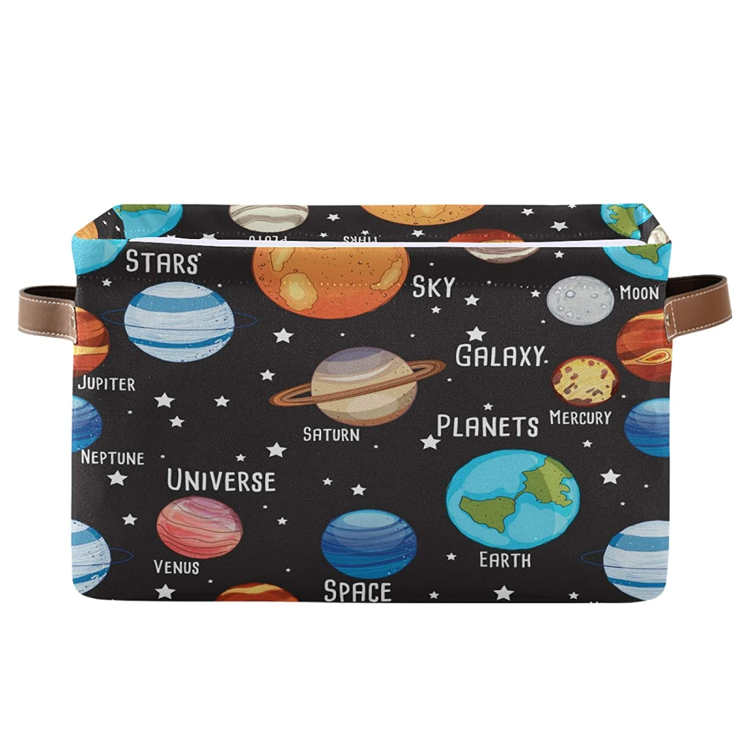 STAYTOP Large Bombing free shipping Cheap SALE Start Storage Basket Cute Collapsib Planets Solar System