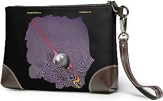 Tame Impala Currents Women Clutch Bag Genuine Leather Envelope Clutch Bag Fashion Wristlet Handbag Unique Nidey