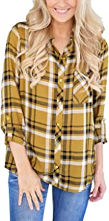 black and gold flannel shirt women's
