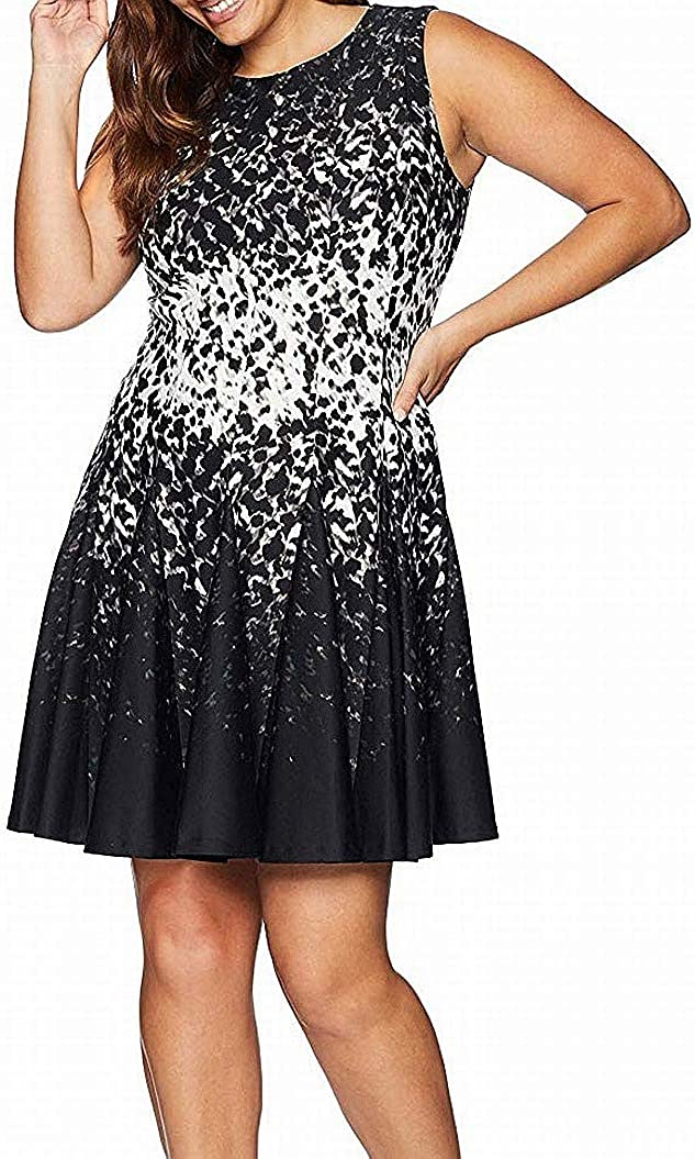 Eliza J Women's Sleeveless Fit Flare and Dress Genuine Sale item