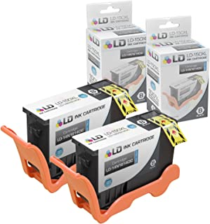 LD Compatible Ink Cartridge Replacement for Lexmark 150XL 14N1614 High Yield (Black, 2-Pack)