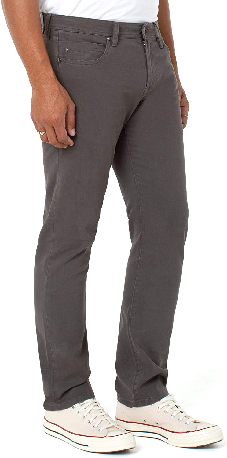 Liverpool Men's Regent Relaxed Straight Peached Colored Twill 30