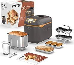Imetec La Panetteria +Zeroglu, Machine à pain, ciabattas et petits pains, gâteaux avec des farines naturelles et sans glut...