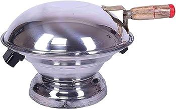 Aluminium Multi Purpose Oven, Gas Tandoor, Barbeque Griller/Bati/Pizza Maker Set by Rama Online.