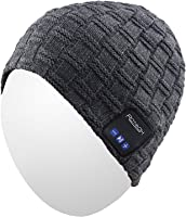 Qshell Bluetooth Beanie Washable Wireless Headphones Hat for Outdoor Sports