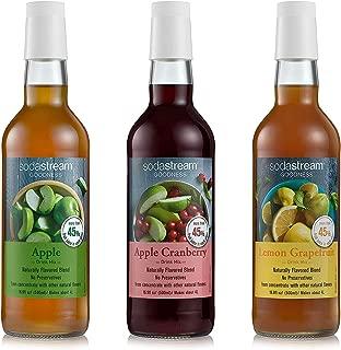 SodaStream Goodness Fruit Juice Drink Mix Variety Pack, 16.9 Fl Oz