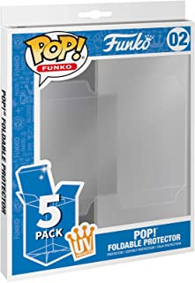 Funko Pop! 5 Pack Foldable Pop Protector Cases - UV Protected
