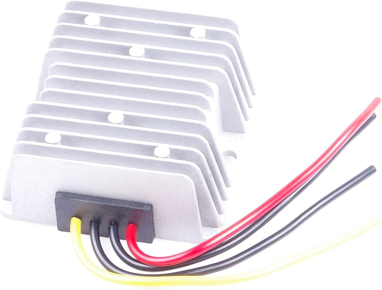 KNACRO DC-DC 12V 24V (9-40V) Step Down to 6V 25A 150W Buck Power Converter Step Down Power Supply Waterproof Overcurrent, overtemperature, Short Circuit Protection(6V 25A)