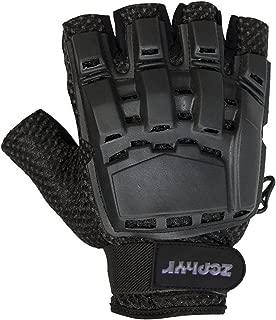 Zephyr Tactical Half-Finger Gloves - Black