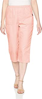 Chic Classic Collection womens Cotton Pull-On Elastic Waist Utility Pocket Bermuda Short Utility Pull-on Capri