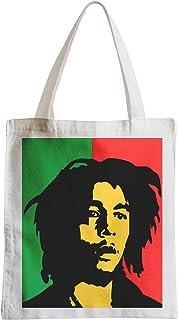 17a6115848 Fabulous Grand Sac Shopping Plage Etudiant Bob Marley Reaggae Music drapeau  jamaique