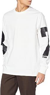 PUMA T-Shirt de Basket à Manches Longues PE Homme
