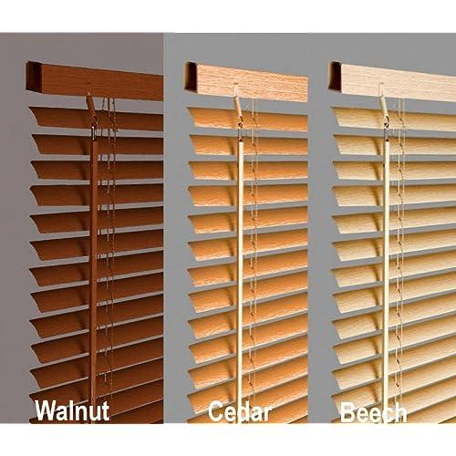 Wooden Venetian Blinds Amazon Co Uk