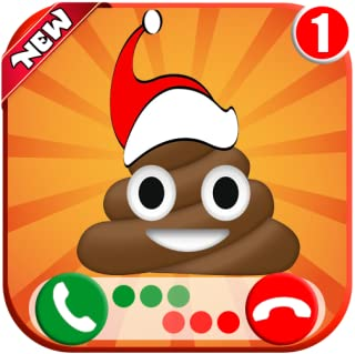 Christmas Poop 💩 Calling You - Fake Voice Game Calls & Free Fake Chat Simulator ID PRO - (NO ADS)