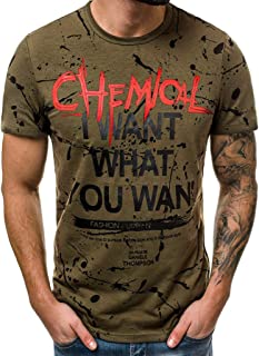 Winsummer I Want What You Want Funny Tee Shirts Summer Casual Short Sleeve Graphic Tee for Men