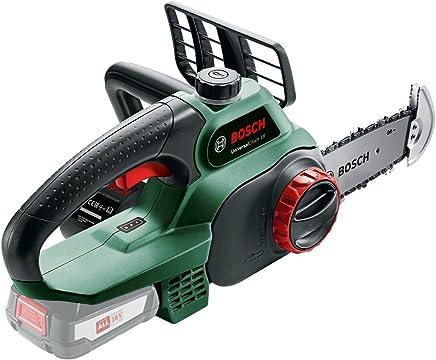 Bosch UniversalChain 18 Motosierra a batería, 18V , longitud de espada 20 cm, no incluye ni batería ni cargador