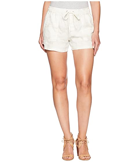 Pull-On Trooper Shorts, White Camo