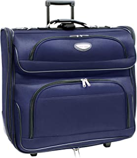 Amsterdam Business Rolling Garment Bag with Protective Foam, Navy
