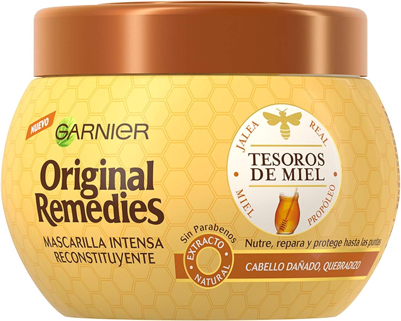 Garnier Original Remedies Tesoros de Miel Mascarilla capilar pelo dañado - 300 ml