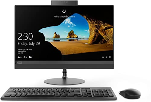 Lenovo 520 22IKU AIO 21.5-inch All-in-One Desktop (6th Gen Core i3-6006U/4GB/1TB/DOS/Integrated Graphics), Black product image