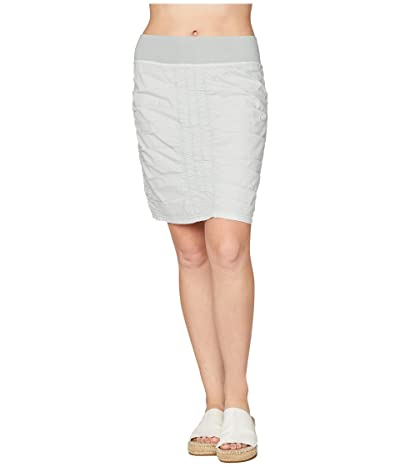 XCVI Wearables Solid Trace Skirt (Glacial Pigment) Women