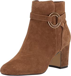 Bella Vita جزمات للكاحل للنساء, (Cognac Suede Leather), 39 EU Narrow