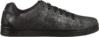 حذاء رياضي لامع رقم 14 للأطفال من Geox, (Dark Silver), 32 EU