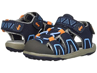 See Kai Run Kids Lincoln IV (Toddler/Little Kid) (Navy/Orange) Boy