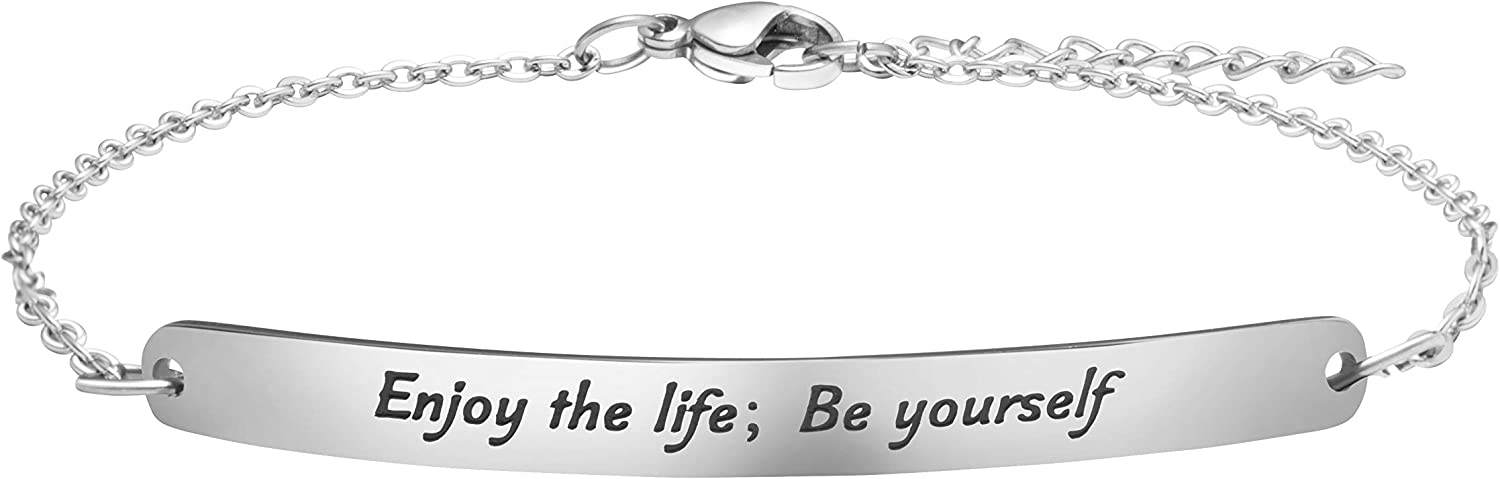 Personalized Gifts for Women All stores are sold Friendship I outlet Motivational Bracelets